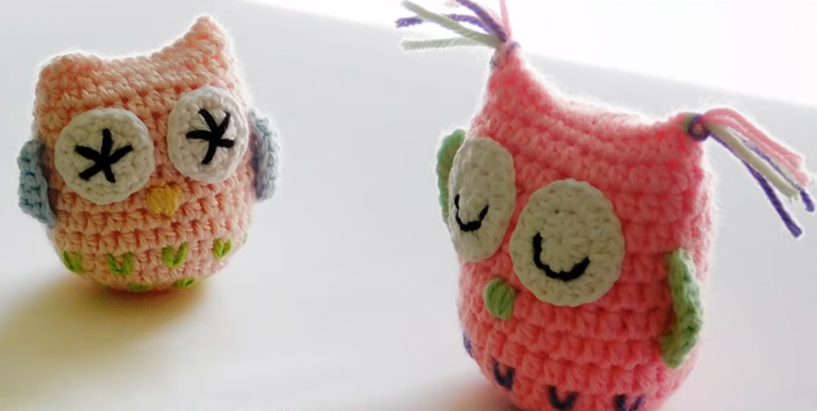 Adorable DIY crocheted owls. Many ideas, patterns, and tutorials ... | 828x1645