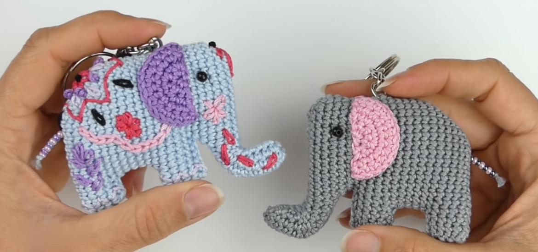 Crochet Elephant Amigurumi Free Pattern with Video   Crochet baby ...   550x1170